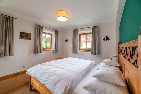 Schlafzimmer auf Gut Steinbach