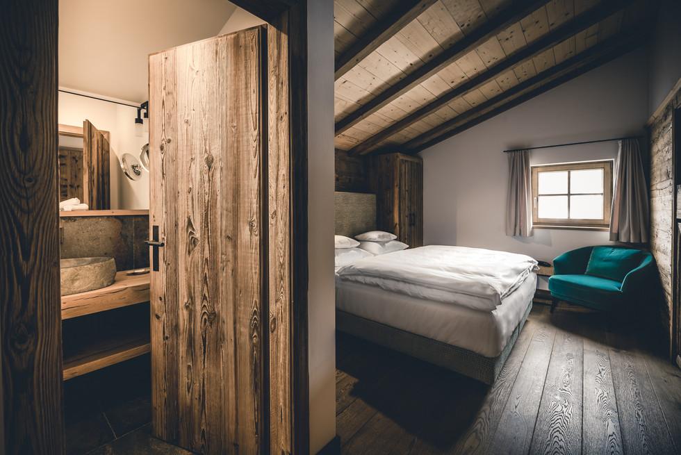 Moody bedroom