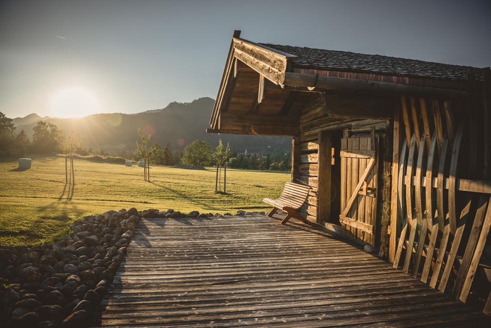 Sauna Hütte