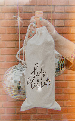 Celebrate Wine Bag