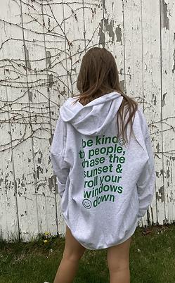 be kind zip-up