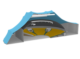 Apollo Tent Arena CAD Visualisation
