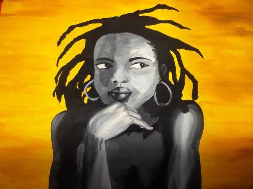 Lauryn Hill Art Print Poster