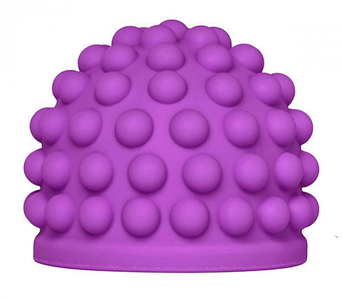 Purple Massage Bumps Silicone Attachment