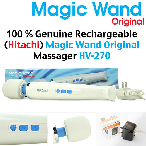 Hitachi Magic Wand Rechargeable Massager - HV-270