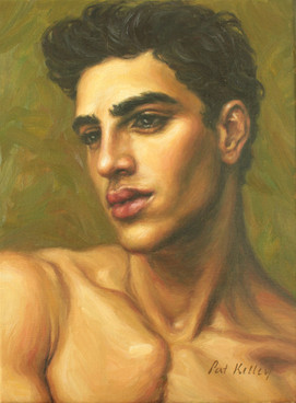 "Alegria, 12""x9"", oil on canvas"