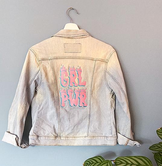Cher Vintage Embroidered Denim Jacket