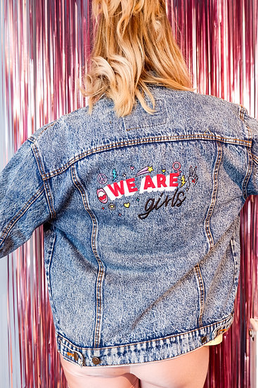 Bright Eyes Blue Denim Jacket