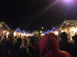 Promenade au marché de Noël
