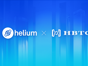 HBTC has reached the strategic partnership with Helium for an exclusive pre-sale of Bobcat Miner
