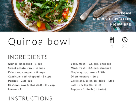 Recipe: Quinoa Bowl