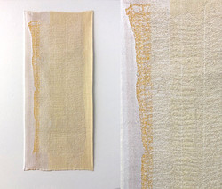 Gauze #6 (with detail), 2018