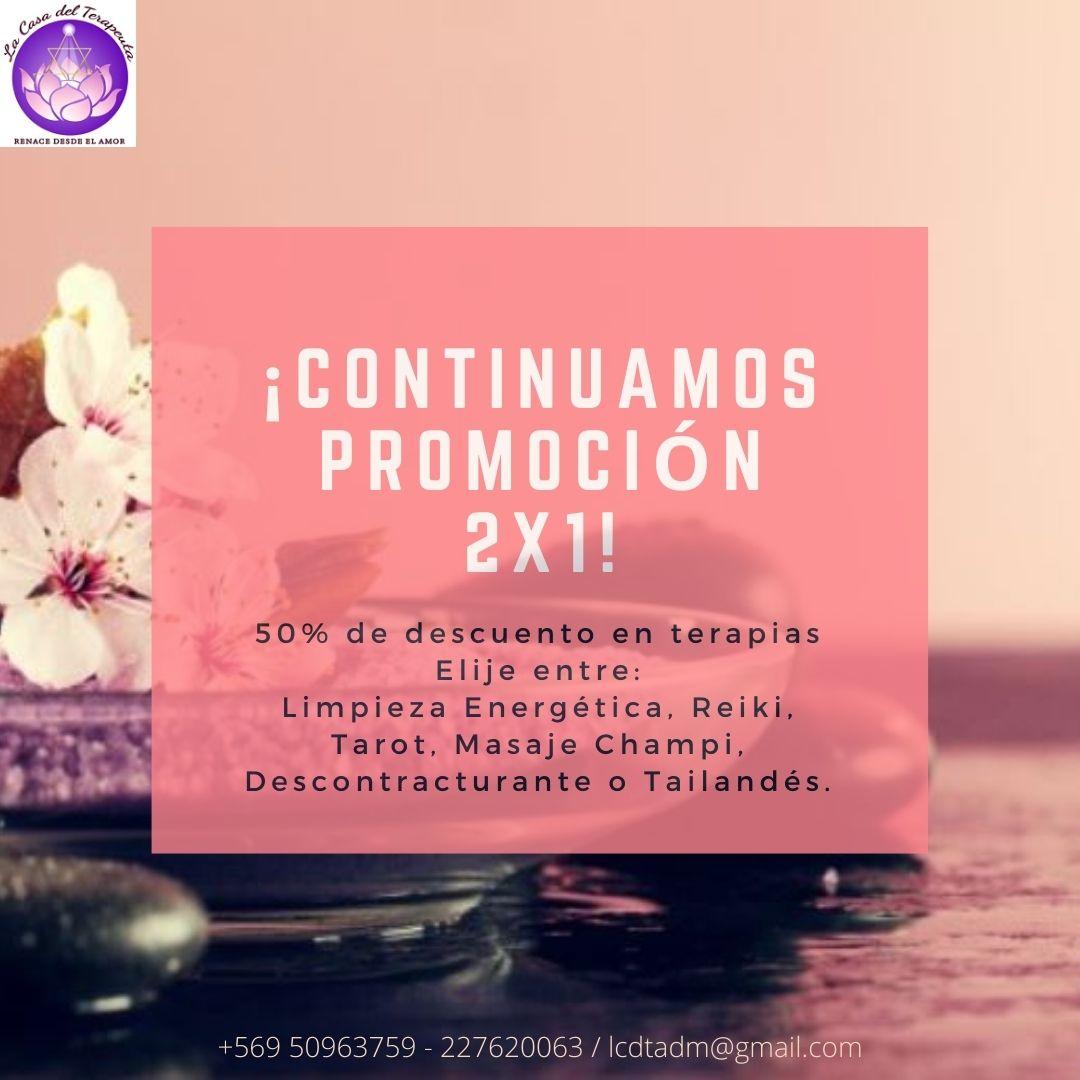 Promoción 2x1