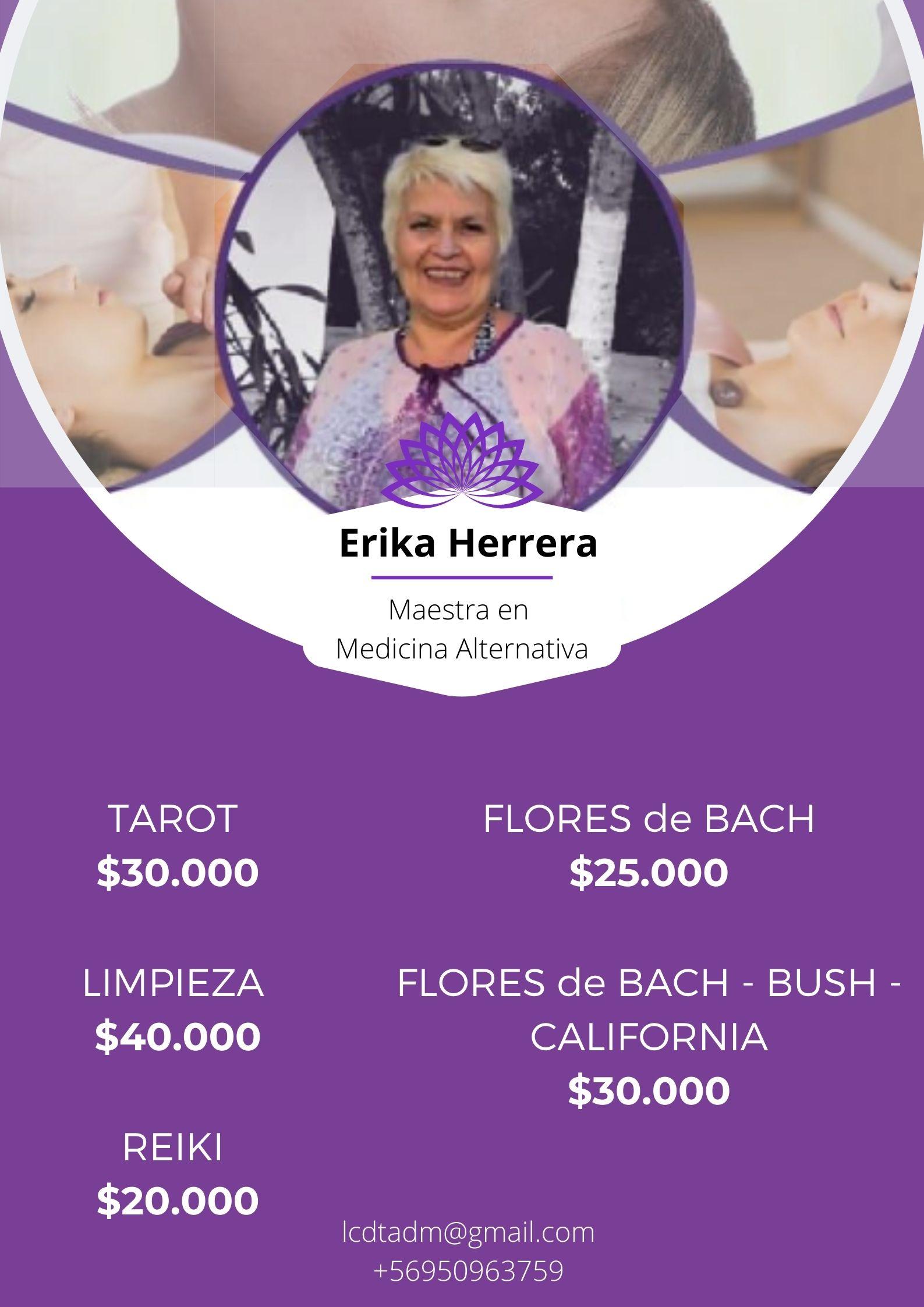 Atención con Erika Herrera