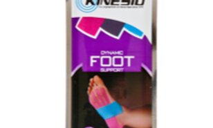 Kinesio Pre-Cut Tape Kit: Foot