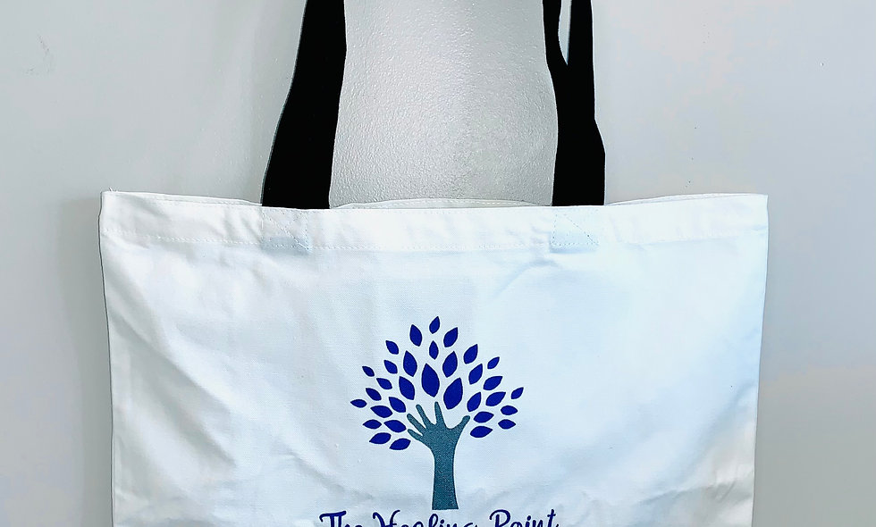 Healing Point Canvas Tote Bag
