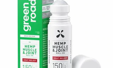 Heat Relief Muscle and Joint Roll-On 150mg