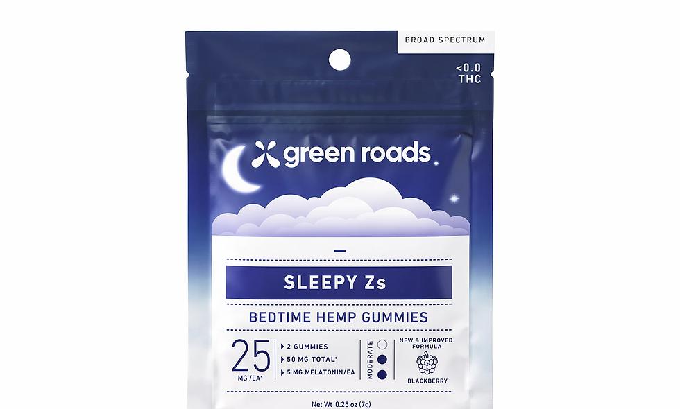 Sleepy Zs Bedtime Gummies 50mg