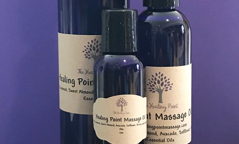 Healing Point Massage Oil 8oz