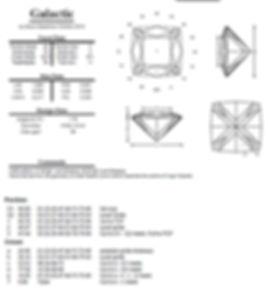 Steve Sweetman custom bespoke gem designs, gemstone cutting, Ultra Tec faceting machines UK, facet diagras
