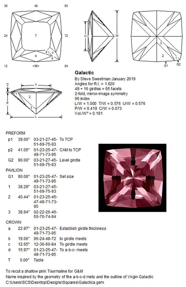 Ultra Tec Faceting UK, custom bespoke gemstone design, Steve Sweetman bespokegems.uk