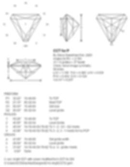 Steve Sweetman, custom gem designs, gemstone cutting, Ultra Tec faceting machines, facet diagrams
