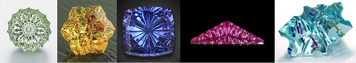 Ultra Tec concave cut gemstones