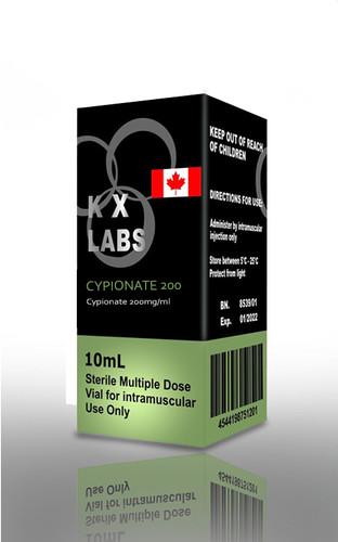 Testosterone Cypionate 200mg/ml (10 mL) Canadian Labs