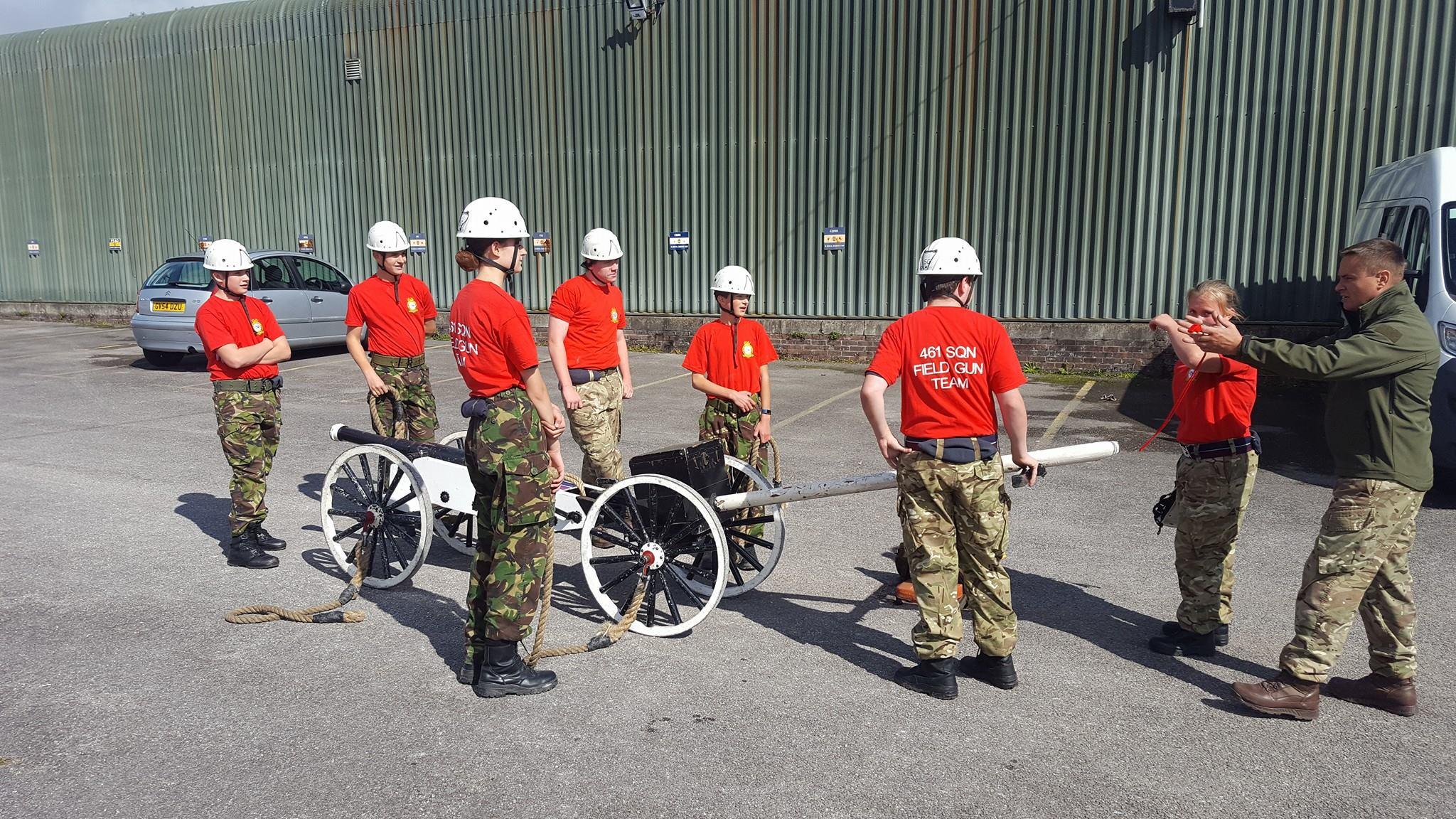 Field Gun training