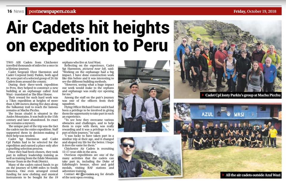 Peru trip article