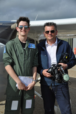 Goodwood flying lesson