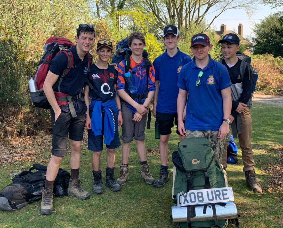 Bronze DofE expedition team