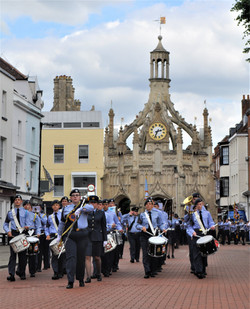 Wing Band on Wing Parade