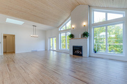 Vaulted Fireplace