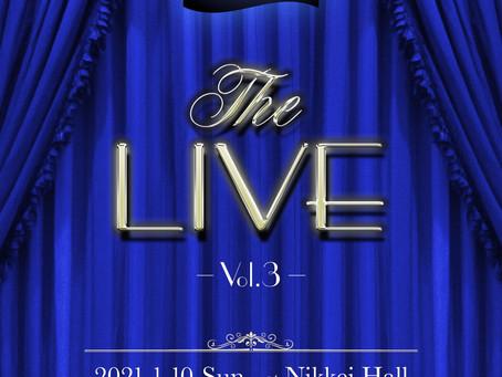 THE LIVE Vol.3開催決定