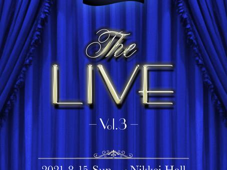 「THE LIVE vol.3」開催