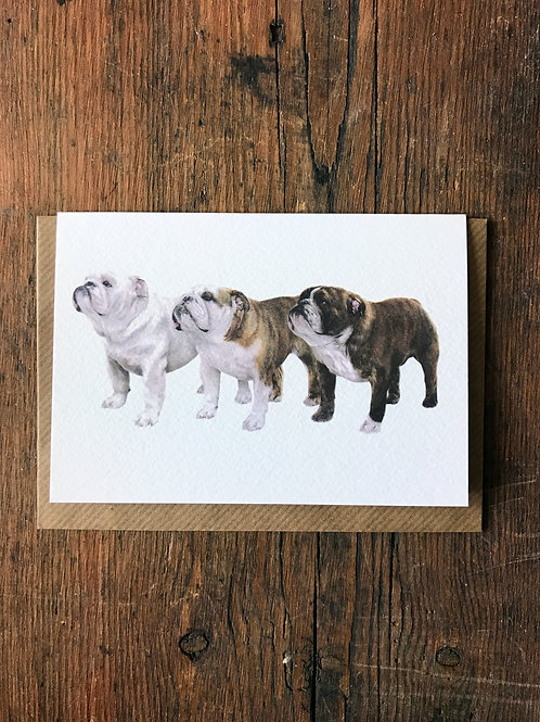 Three Generations Greeting Card