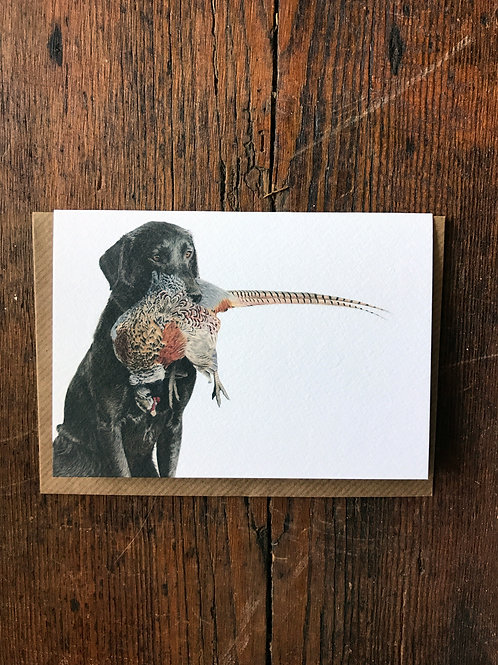 Softly Does It Greeting Card