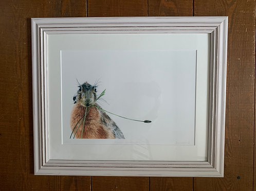 SALE Framed Moment on the Lips Print