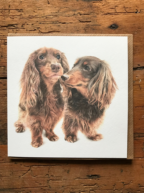The Long and the Short of It Greeting Card