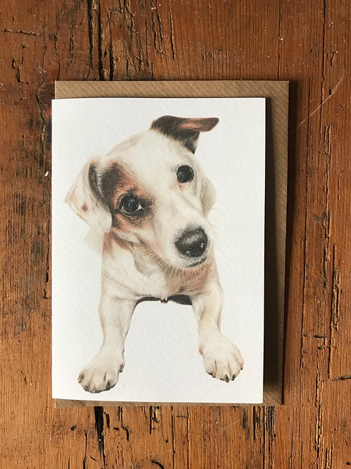 Patch Greeting Card