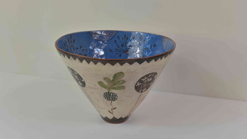 tall terracota bowl, blue inside.jpg