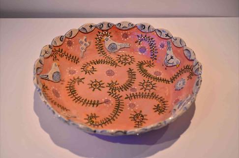 Pink Platter, Fern Pattern.jpg