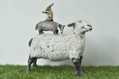 Sheep, Badger and Hare