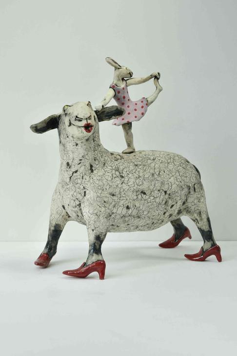 Sheep and Balerina