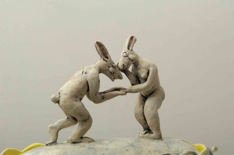 Courting Hares Box