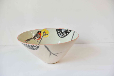 bullfinch on branch bowl.jpg