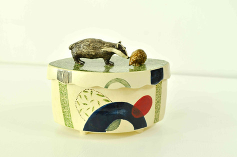 Badger and Headgehog Box