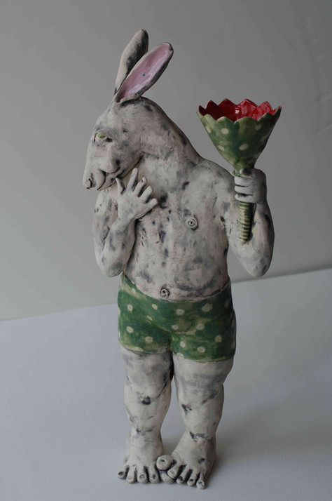 Rabbit and Tulip