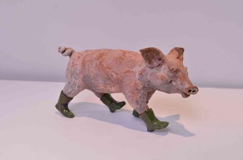 Piglet in Wellies
